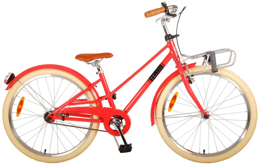 Volare Melody Kinderfiets Meisjes 24 inch Pastel Rood Prime Collection online kopen