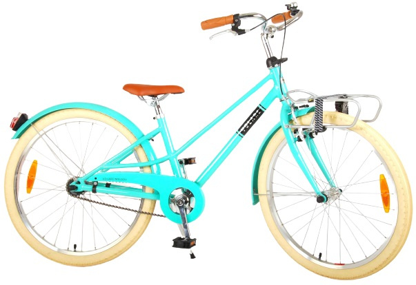 Volare Melody Kinderfiets Meisjes 24 inch Turquoise Prime Collection online kopen