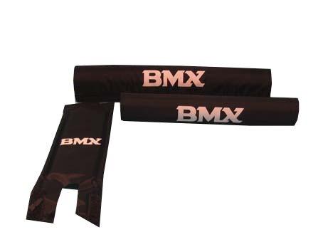 VWP BMX Pads Set Zwart