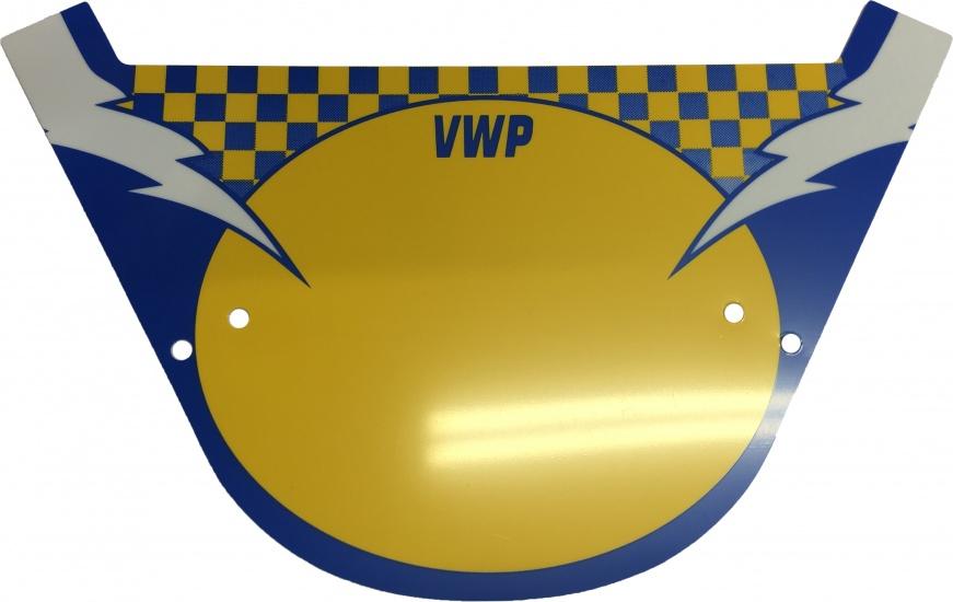 VWP BMX Stuurbord Nummerplaat