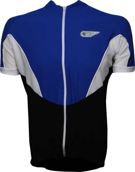 VWP fietsshirt KM Bonfanti heren blauw maat S
