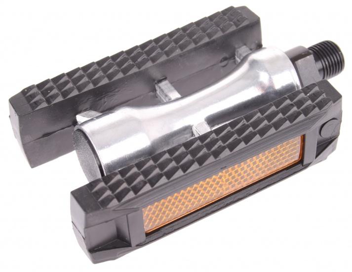 VWP Platformpedaal Stadsfiets SP 550 9-16 Inch zwart per set