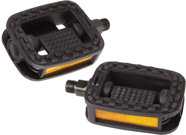 VWP Platformpedaal stadsfiets FP 826 9/16 inch zwart per set