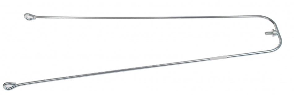 VWP Spatbordstang 24 Inch Draadpad Bevestiging Inox