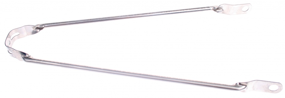 VWP Spatbordstang Staal 26 Inch Zilver