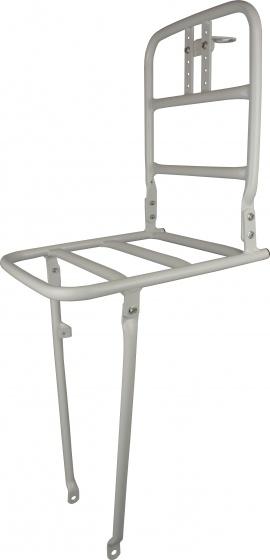 VWP voordrager 24 inch aluminium wit