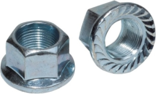 Weldtite asmoeren met passend ring 3/8 inch zilver 2 stuks
