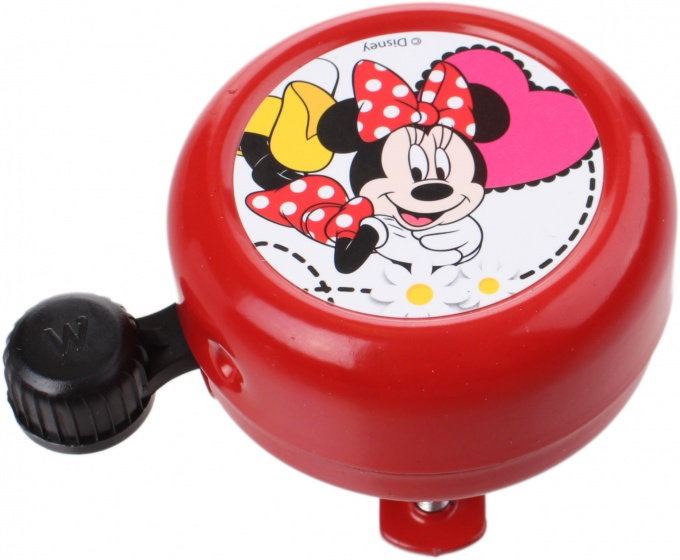 Widek fietsbel Disney Minnie Mouse 55 mm rood Sport>Fietsen>Fiets Onderdelen & Accessoires aanschaffen doe je het voordeligst hier