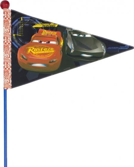Widek fietsvlag met stok Cars 3 deelbaar blauw Sport>Fietsen>Fiets Onderdelen & Accessoires aanschaffen doe je het voordeligst hier