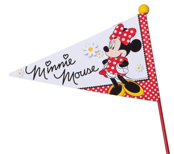 Widek fietsvlag Minnie Mouse deelbaar 170 cm rood Sport>Fietsen>Fiets Onderdelen & Accessoires aanschaffen doe je het voordeligst hier