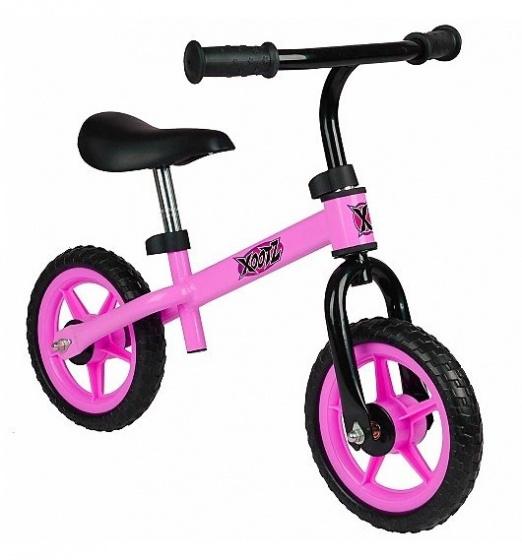 Xootz 2 wiel kinderstep Balance Junior Roze