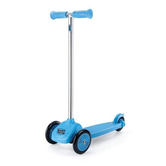 Xootz 3-wiel Kinderstep Xoo Mini Junior Voetrem Blauw online kopen