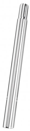 Ergotec Zadelpen vast kaars 28,6 x 300 mm aluminium zilver