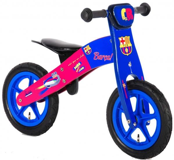 FC Barcelona houten loopfiets 12 inch