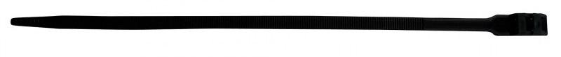 Zenitech kabelbinders 9 x 350 mm zwart 20 stuks