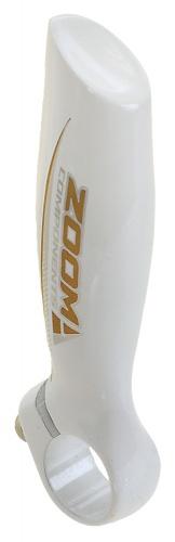 Zoom Handvatten Bar END Aluminium Wit Per 2 Stuks