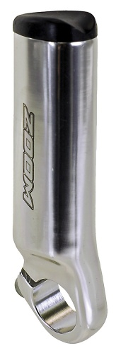 Zoom Handvatten Bar END 22.2mm Aluminium Zilver Per 2 Stuks