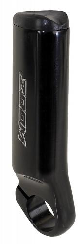 Zoom Handvatten Bar END 22.2mm Aluminium Zwart Per 2 Stuks