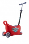 Milly Mally Snoop! 3-in-1 loopwagen en step rood