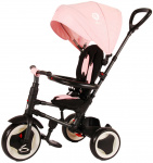 QPlay driewieler Rito Deluxe Junior Roze/Zwart