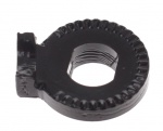 Shimano ring asborgplaat Nexus zwart